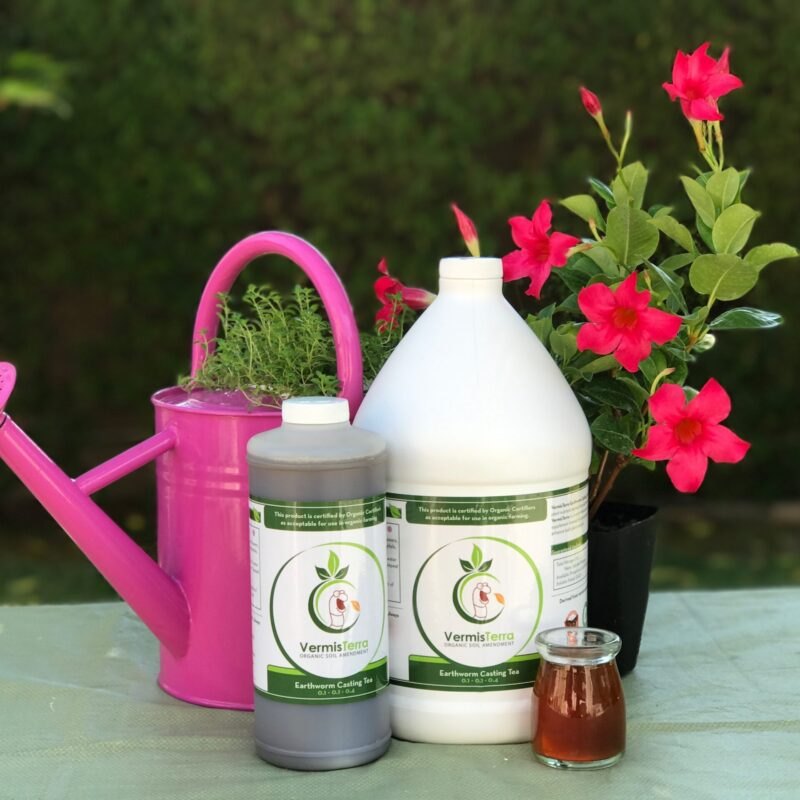 Vermisterra nutrient tea is lab tested and free of pathogens and heavy metals.