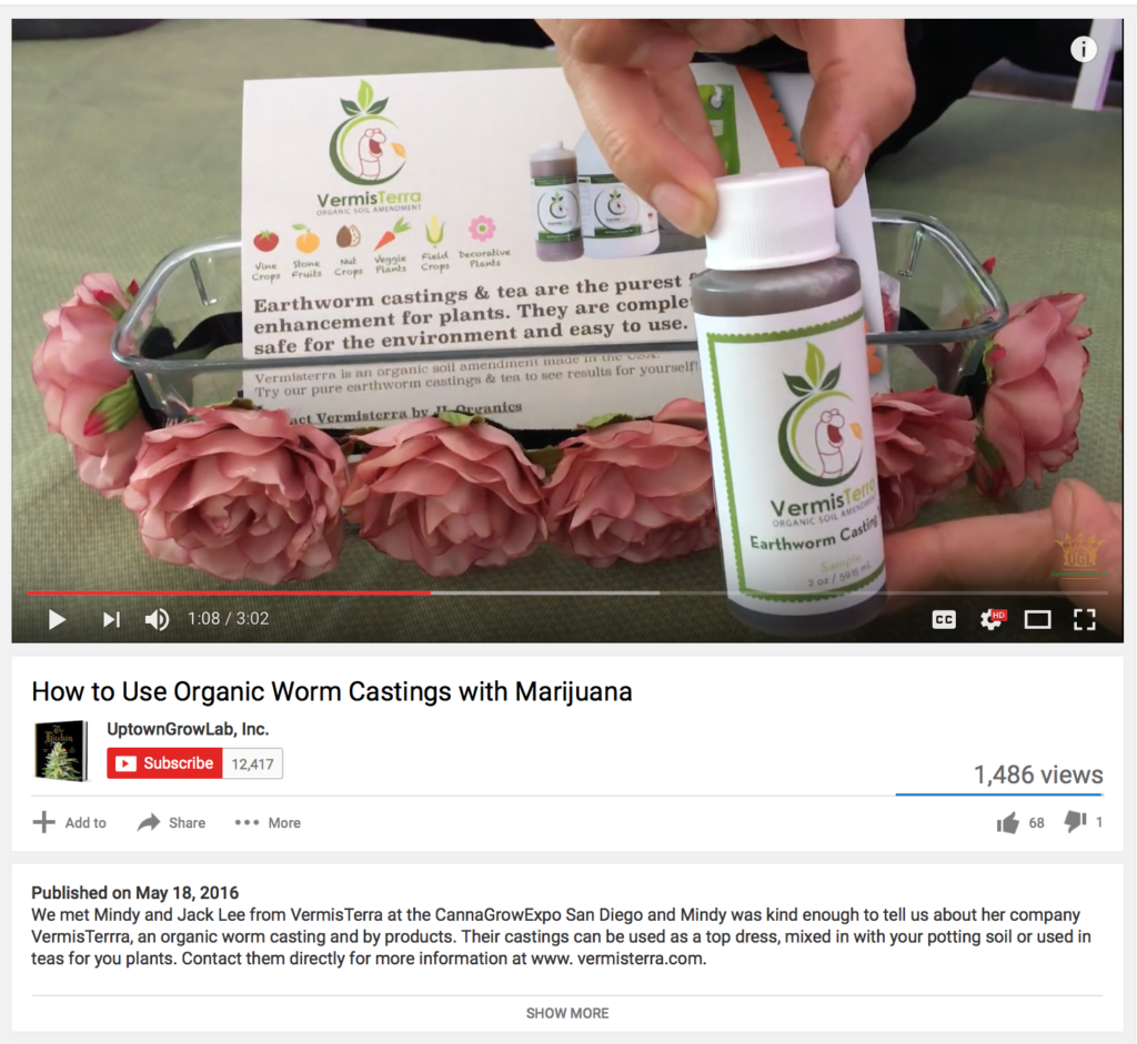 UptowngrowLab's interview with Vermisterra video now on Youtube!